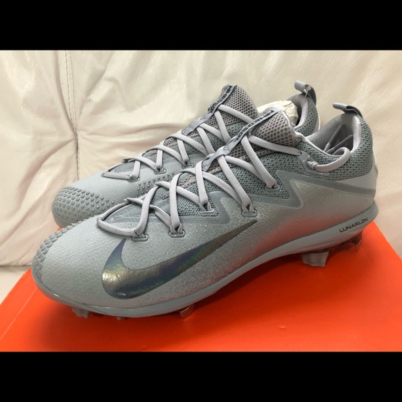 4d7ed1f31f69 Nike Lunar Vapor Ultrafly Elite Cleats New Gray. NWT. Nike.  55  110. Size.  11.5